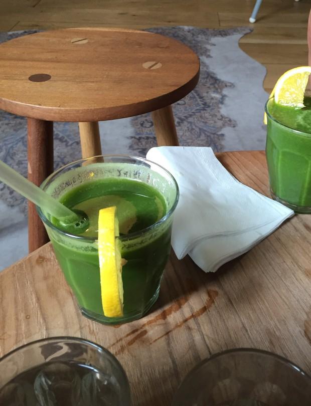 Green Juice @ Espresso Library