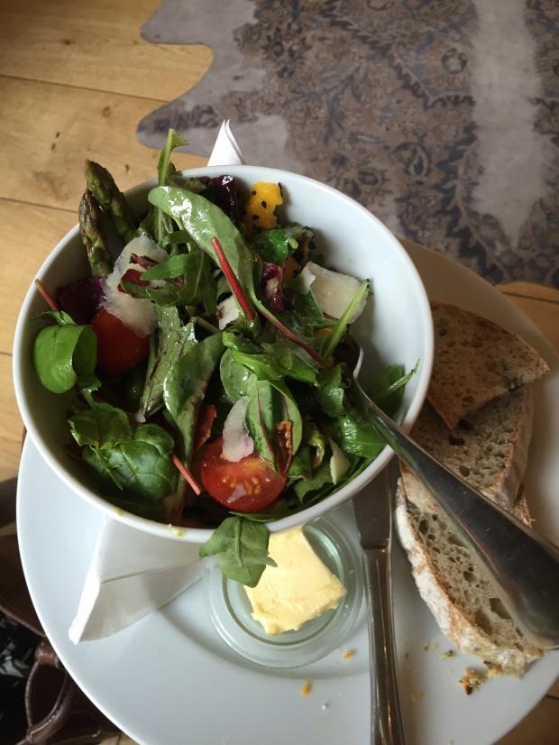 Salad bowl @ Espresso Library